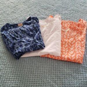 Bundle of 3 Sleeveless Tops